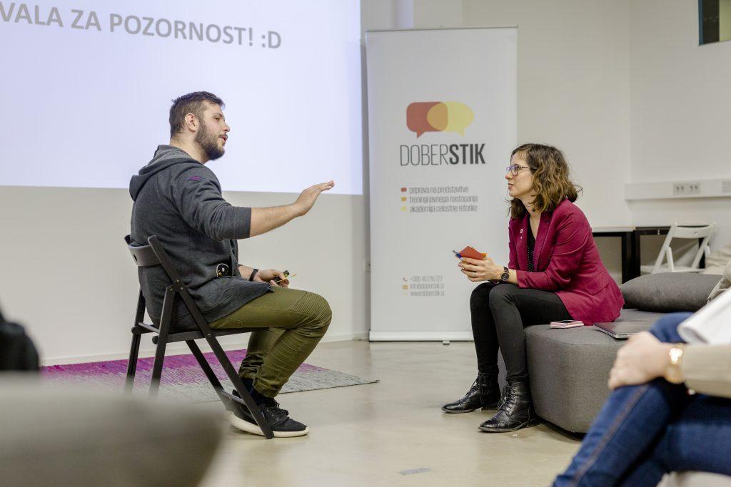 Individualna priprava na nastop z Nino Dušić Hren