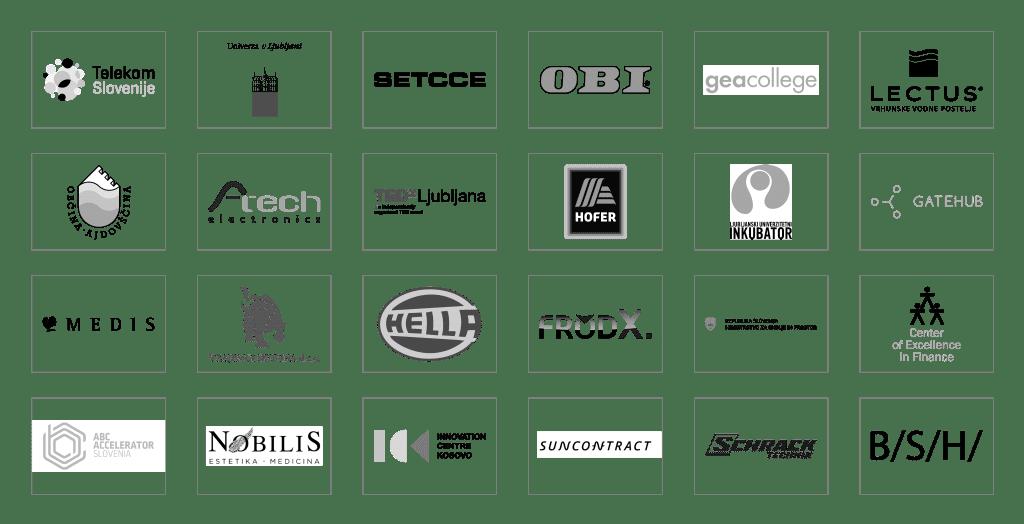 Dober stik logotipi partnerjev